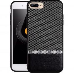 """""""JLW"""" WuW rakstains apvalks - melns (iPhone 7 Plus / 8 Plus)"""