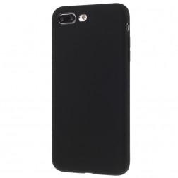 Planākais TPU apvalks - melns (iPhone 7 Plus / 8 Plus)