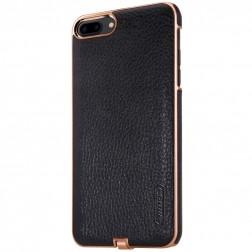 """Nillkin"" N-JARL Wireless apvalks ar bezvadu uzlādēšanas funkciju - melns (iPhone 7 Plus / 8 Plus)"