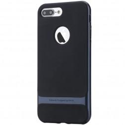 """Rock"" Royce apvalks - melns apmales zilā krāsā (iPhone 7 Plus / 8 Plus)"