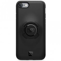 """""""Quad Lock"""" apvalks - melns (iPhone 7 / 8)"""