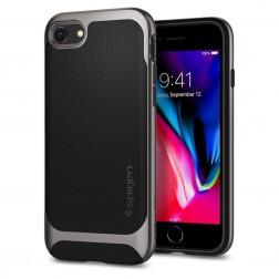 """Spigen"" Neo Hybrid Herringbone apvalks - melns (iPhone 7 / 8)"