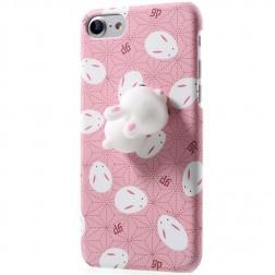 """Squezy"" Rabbit plastmasas apvalks - rozs (iPhone 7 / 8)"
