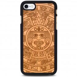 """Crafted Cover"" dabīga koka apvalks - Maija kalendārs (iPhone 7 / 8)"