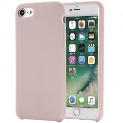 """""""Shell"""" cieta silikona (TPU) apvalks - rozā (iPhone 7 / 8 / SE 2020)"""