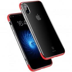 """Baseus"" Armor apvalks - dzidrs, sarkans (iPhone X / Xs)"