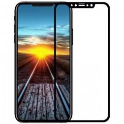 """""""Devia"""" Tempered Glass ekrāna aizsargstikls 0.18 mm - melns + aizsargplēve aizmugurējām vāciņam (iPhone X / Xs / 11 Pro)"""