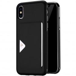 """""""Dux Ducis"""" Pocard apvalks - melns (iPhone X / Xs)"""