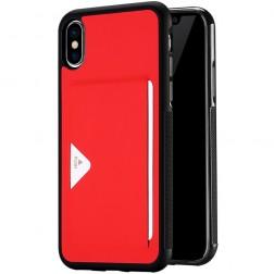 """""""Dux Ducis"""" Pocard apvalks - sarkans (iPhone X / Xs)"""