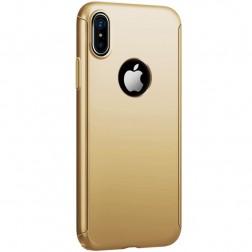 """""""JOYROOM"""" Beetles plastmāsas apvalks - zelta (iPhone X / Xs)"""