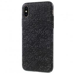 """""""Disco"""" plastmasas apvalks - melns (iPhone X / Xs)"""
