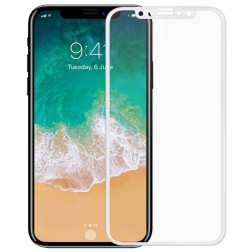"""Mocolo"" Tempered Glass ekrāna aizsargstikls 0.26 mm - balts (iPhone X / Xs / 11 Pro)"