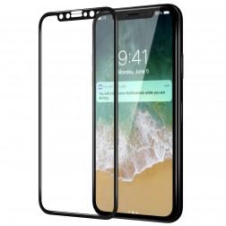 """""""Nillkin"""" CP 9H Tempered Glass ekrāna aizsargstikls 0.33 mm - melns (iPhone X / Xs / 11 Pro)"""