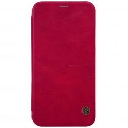 """""""Nillkin"""" Qin atvēramais maciņš - sarkans (iPhone X / Xs)"""