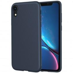 """Lenuo"" cieta silikona (TPU) apvalks - zils (iPhone Xr)"