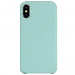 """""""Shell"""" cieta silikona (TPU) apvalks - piparmētru (iPhone Xr)"""