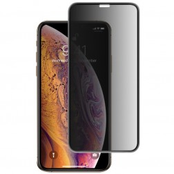 """Mocolo"" Tempered Glass melns ekrāna aizsargstikls 0.26 mm - privāta (iPhone Xr / 11)"