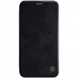 """Nillkin"" Qin atvēramais maciņš - melns (iPhone Xr)"