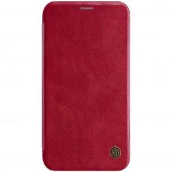 """""""Nillkin"""" Qin atvēramais maciņš - sarkans (iPhone Xr)"""
