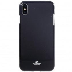 """""""Mercury"""" apvalks - melns (iPhone Xs Max)"""