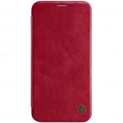 """""""Nillkin"""" Qin atvēramais maciņš - sarkans (iPhone Xs Max)"""