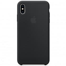 "Oficiāls ""Apple"" Silicone Case apvalks - melns (iPhone Xs Max)"