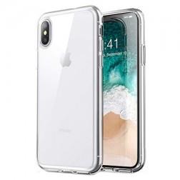 Cieta silikona (TPU) apvalks - dzidrs (iPhone Xs Max)