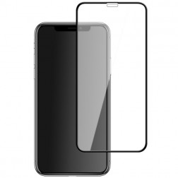 """Mocolo"" Tempered Glass ekrāna aizsargstikls 0.26 mm - melns (iPhone X / Xs / 11 Pro)"