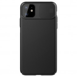 """Nillkin"" CamShield apvalks - melns (iPhone 11)"