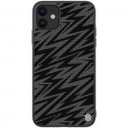 """Nillkin"" Twinkle Lightning apvalks - melns, krāsains (iPhone 11)"