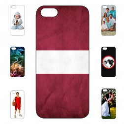 """Mans futrālis"" ar individuālu dizaini - cieta silikona (iPhone 5 / 5S)"