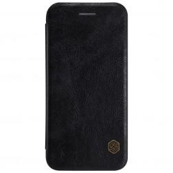 """""""Nillkin"""" Qin atvēramais maciņš - melns (iPhone 7 / 8)"""