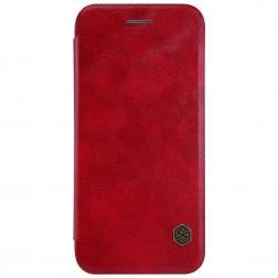 """""""Nillkin"""" Qin atvēramais maciņš - sarkans (iPhone 7 / 8)"""