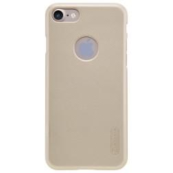"""Nillkin"" Frosted Shield futrālis - zelts + ekrāna aizsargplēve (iPhone 7 / 8)"