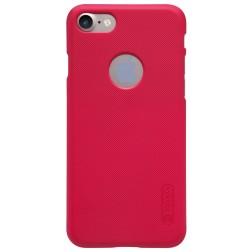 """Nillkin"" Frosted Shield futrālis - sarkans + ekrāna aizsargplēve (iPhone 7 / 8)"
