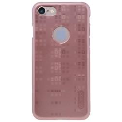 """Nillkin"" Frosted Shield futrālis - rozs + ekrāna aizsargplēve (iPhone 7 / 8)"