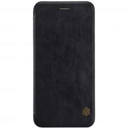 """Nillkin"" Qin atvēramais maciņš - melns (iPhone 7 Plus / 8 Plus)"
