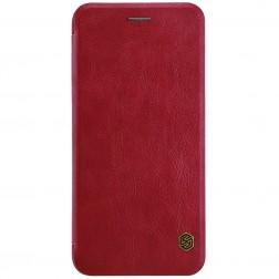 """""""Nillkin"""" Qin atvēramais maciņš - sarkans (iPhone 7 Plus / 8 Plus)"""