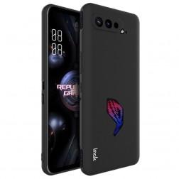 """Imak"" cieta silikona (TPU) apvalks - melns (Rog Phone 5)"