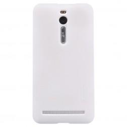 """""""Nillkin"""" Frosted Shield apvalks - balts + ekrāna aizsargplēve (Zenfone 2 5.5)"""