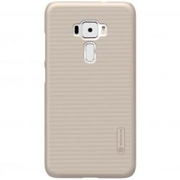 """""""Nillkin"""" Frosted Shield apvalks - zelta + ekrāna aizsargplēve (Zenfone 3 5.5)"""