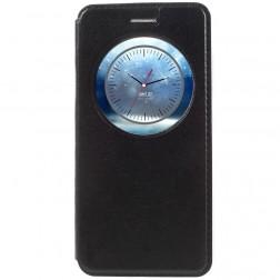"""""""Smart Window"""" atvēramais ādas maciņš - melns (Zenfone 3 5.2)"""
