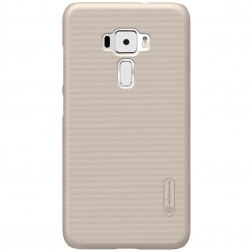"""""""Nillkin"""" Frosted Shield apvalks - zelta + ekrāna aizsargplēve (Zenfone 3 5.2)"""