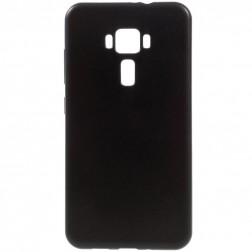 Cieta silikona (TPU) apvalks - melns (Zenfone 3 5.5)