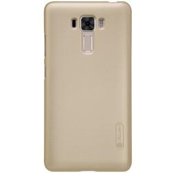 """""""Nillkin"""" Frosted Shield apvalks - zelta + ekrāna aizsargplēve (Zenfone 3 Laser)"""