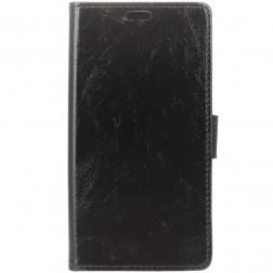 Atvēramais maciņš - melns (Zenfone 3 Max)