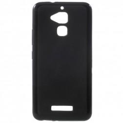 Cieta silikona (TPU) apvalks - melns (Zen fone 3 Max)
