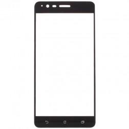 """""""Calans"""" Tempered Glass pilnīgi aizsedzams ekrāna aizsargstikls 0.2 mm - melns (Zenfone 3 Zoom)"""