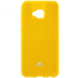 """Mercury"" apvalks - dzeltens (Zenfone 4 Selfie Pro)"