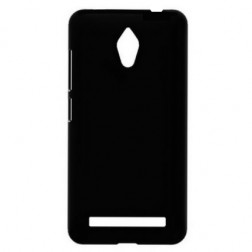 Matēts plastmāsas futrālis - melns (Zenfone C 4.5)